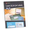 "MACO White Laser/Ink Jet Address Label - Permanent Adhesive - 1"" Width x 4"" Length - 20 / Sheet - Re MACML2000"