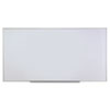 <strong>Universal®</strong><br />Dry Erase Board, Melamine, 96 x 48, Satin-Finished Aluminum Frame