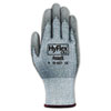 <strong>AnsellPro</strong><br />HyFlex 627 Light-Duty Gloves, Size 10, Dyneema/Lycra/Polyurethane, GY, 12 Pairs