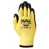 <strong>AnsellPro</strong><br />HyFlex Ultra Lightweight Assembly Gloves, Black/Yellow, Size 10, 12 Pairs