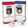 Respirator Cleaning Pads, 5 x 7, White, 100/Box
