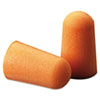 3M™ Foam Single-Use Earplugs, Cordless, 29NRR, Orange, 200 Pairs - 1100