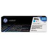HP 304A, (CC531A) Cyan Original LaserJet Toner Cartridge