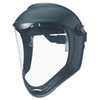 Honeywell Uvex™ Bionic Face Shield, Matte Black Frame, Clear Lens - 763-S8500