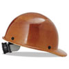 MSA Skullgard Protective Hard Hats, Ratchet Suspension, Size 6 1/2 - 8, Natural Tan - 454-475395