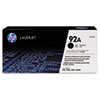 HP 92A (C4092A) Black Original LaserJet Toner Cartridge - Laser - 2500 Page - 1 Each HEWC4092A