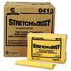 NON-RETURNABLE. Stretch 'n Dust Cloths, 12 3/5 X 17, Yellow, 400/carton