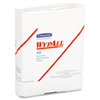 WypAll* X50 Wipers, 10 x 12 1/2, White, 26/Pack, 32 Packs/Carton KCC35025