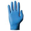 TNT Blue Disposable Gloves, Medium, Nitrile, 100/Box