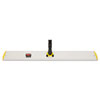 Rubbermaid® Commercial HYGEN™ HYGEN Quick Connect Single-Sided Frame, 36 1/10w x 3 1/2d, Yellow - FGQ58000YL00