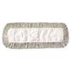 Mop Head, Dust, Cotton, 18 x 3, White