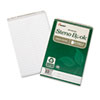 7530016002029 SKILCRAFT Recycled Steno Book, Gregg Rule, 6 x 9, White, 60 Sheets, 6/Pack
