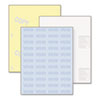 Standard Medical Security Paper, Blue/Canary, 6 Features, 8 1/2 x 11, 250 Sets
