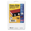 """Avery® Removable Multi-Use Labels, 3/4"""" dia, White, 1008/Pack AVE05408"""