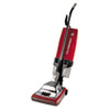 """Sanitaire® Commercial Upright with EZ Kleen Dirt Cup, 7 Amp, 12"""" Path, Red/Steel EUR887"""