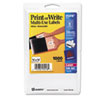 Avery® Removable Multi-Use Labels, 1/2 x 3/4, White, 1008/Pack AVE05418