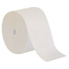 NON-RETURNABLE. COMPACT CORELESS ONE-PLY BATH TISSUE, SEPTIC SAFE, WHITE, 3000 SHEETS/ROLL, 18 ROLLS/CARTON