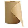 Hardwound Roll Towels, Kraft, 8 x 350'