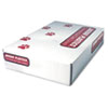 """INDUSTRIAL STRENGTH LOW-DENSITY COMMERCIAL CAN LINERS, 45 GAL, 1.1 MIL, 40"""" X 46"""", GRAY, 100/CARTON"""