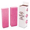 Deodorizing Para Wall Blocks, 16 oz, Pink, Cherry, 12/Box