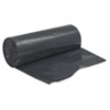Linear Low Density Can Liners, 2mil, 38 x 58, Black, 10 Bags/Roll, 10 Rolls/CT