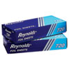 <strong>Reynolds Wrap®</strong><br />Pop-Up Interfolded Aluminum Foil Sheets, 12 x 10 3/4, Silver, 200/Box
