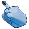 Rubbermaid® Commercial Hand-Guard Scoop, 74oz, Transparent Blue RCP9F50