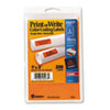 Avery® Printable Removable Color-Coding Labels, 1 x 3, Neon Orange, 200/Pack AVE05477