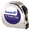 "Power Tape Measure, 5/8"" x 12ft, Black Case"