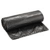 Boardwalk® L-Grade Can Liners, 24 x 32, 12-16gal, .35mil, Black, 50 Bags/Roll, 10 Rolls/CT - BWK2432L