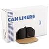 Boardwalk® Super Extra-Heavy Can Liner, 38x58, 1.6 Mil, 60gal, Black, 10 Bag/RL, 10 RL/CT BWK523