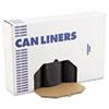 Boardwalk® SH-Grade Can Liners, 40 x 46, 40-45gal, 1.2mil, Black, 10 Bags/Roll, 10 Rolls/CT BWK517