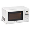 0.7 Cubic Foot Capacity Microwave Oven, 700 Watts, White
