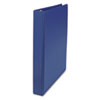 "D-Ring Binder, 1"" Capacity, 8-1/2 x 11, Royal Blue"
