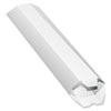 Expand-on-Demand Mailing Tubes, 24l x 2dia, White