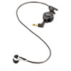 Digital Telephone Pickup Microphone, 2 Ear Cushions, Black