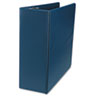 "D-Ring Binder, 4"" Capacity, 8-1/2 x 11, Navy"