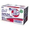 JRT Bathroom Tissue, 2-Ply, 1000ft, 6 Rolls/Carton
