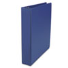 "D-Ring Binder, 1-1/2"" Capacity, 8-1/2 x 11, Royal Blue"