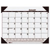 House of Doolittle™ Recycled EcoTones Mountain Gray Monthly Desk Pad Calendar, 22 x 17, 2017 HOD12442
