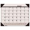 House of Doolittle™ Recycled EcoTones Sunrise Rose Monthly Desk Pad Calendar, 22 x 17, 2017 HOD12470