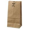 General #4 Paper Grocery Bag, 50lb Kraft, Extra-Heavy-Duty 5 x 3 1/3 x 9 3/4, 500 bags BAGGX4500