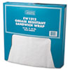 <strong>Bagcraft</strong><br />Grease-Resistant Paper Wraps and Liners, 12 x 12, White, 1000/Box, 5 Boxes/Carton