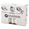 """HIGH-DENSITY COMMERCIAL CAN LINERS VALUE PACK, 60 GAL, 19 MICRONS, 38"""" X 58"""", CLEAR, 150/CARTON"""