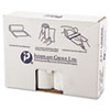 """HIGH-DENSITY COMMERCIAL CAN LINERS VALUE PACK, 60 GAL, 12 MICRONS, 38"""" X 58"""", CLEAR, 200/CARTON"""