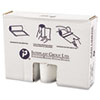 """<strong>Inteplast Group</strong><br />High-Density Commercial Can Liners Value Pack, 45 gal, 12 microns, 40"""" x 46"""", Clear, 250/Carton"""