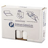 """HIGH-DENSITY COMMERCIAL CAN LINERS VALUE PACK, 60 GAL, 14 MICRONS, 43"""" X 46"""", CLEAR, 200/CARTON"""