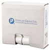 """LOW-DENSITY COMMERCIAL CAN LINERS, 16 GAL, 0.35 MIL, 24"""" X 33"""", CLEAR, 1,000/CARTON"""
