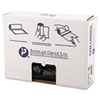 "<strong>Inteplast Group</strong><br />High-Density Commercial Can Liners, 16 gal, 8 microns, 24"" x 33"", Black, 1,000/Carton"