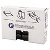Inteplast Group High-Density Can Liner, 24 x 33, 16gal, 6mic, Black, 50/Roll, 20 Rolls/Carton IBSS243306K